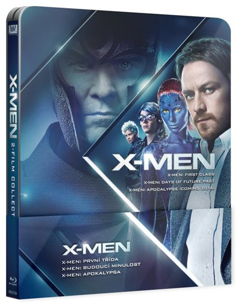 X-Men 4-6 Prequel Steelbook Blu-ray - Matthew Vaughn, Bryan Singer