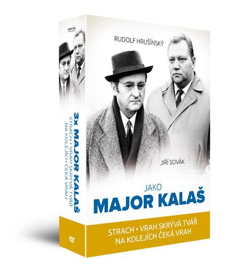 3x Major Kalaš Kolekce 3 DVD