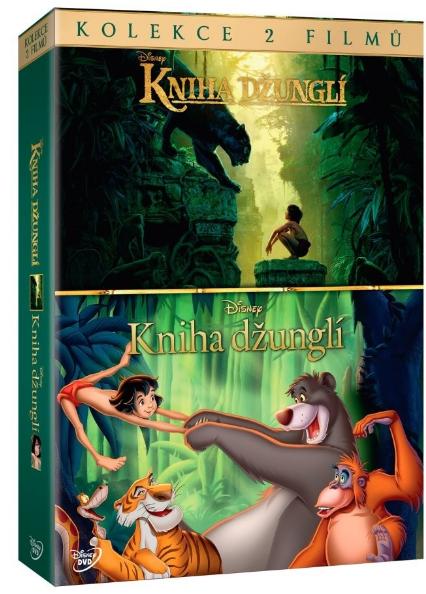 Kniha džunglí kolekce 2 DVD