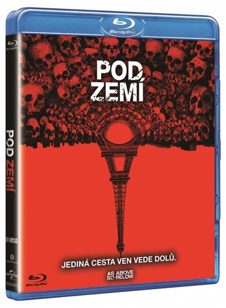 Pod zemí Blu-ray - John Erick Dowdle - 13x17 cm