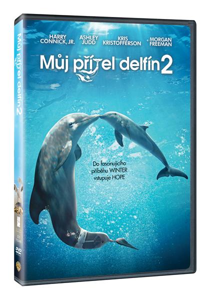 DVD Můj přítel delfín 2 - Charles Martin Smith - 13x19 cm