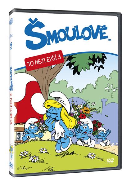 DVD Šmoulové - To nejlepší 3 - 13x19 cm