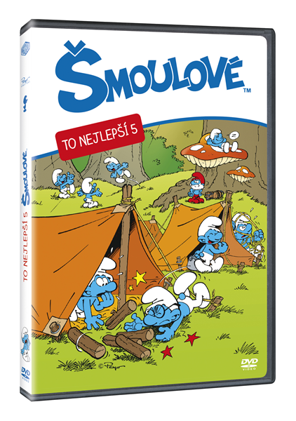 DVD Šmoulové - To nejlepší 5 - 13x19 cm