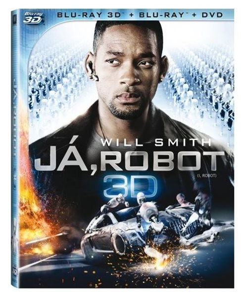 Já, robot 2D+3D Blu-ray - Alex Proyas - 13x17 cm