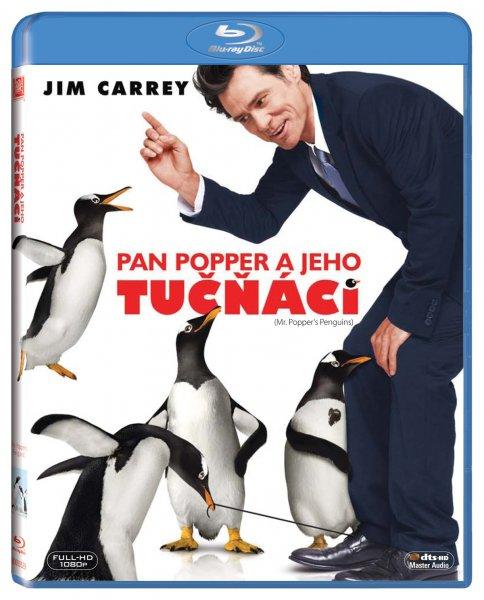 Pan Popper a jeho tučňáci Blu-ray - 13x17 cm