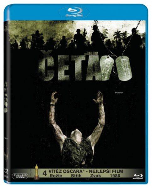 Četa Blu-ray - Oliver Stone - 13x17 cm