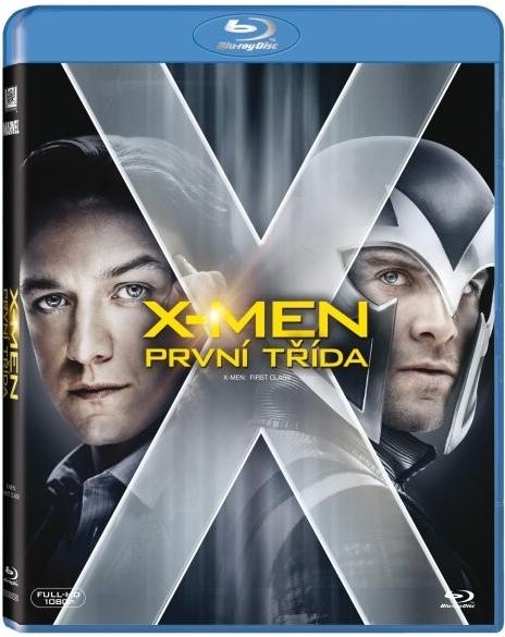 X-Men: První třída Blu-ray - Matthew Vaughn - 13x17 cm