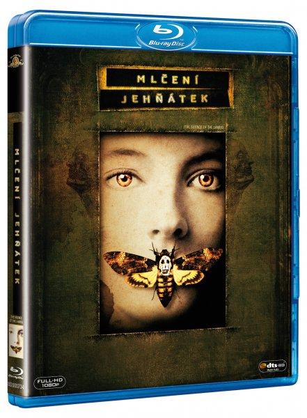 Mlčení jehňátek Blu-ray - Jonathan Demme - 13x17 cm