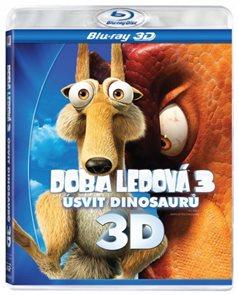 Doba ledová 3 - Úsvit dinosaurů Blu-ray 3D