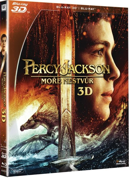Percy Jackson: Moře nestvůr Blu-ray 3D + 2D - Thor Freudenthal - 13x17 cm