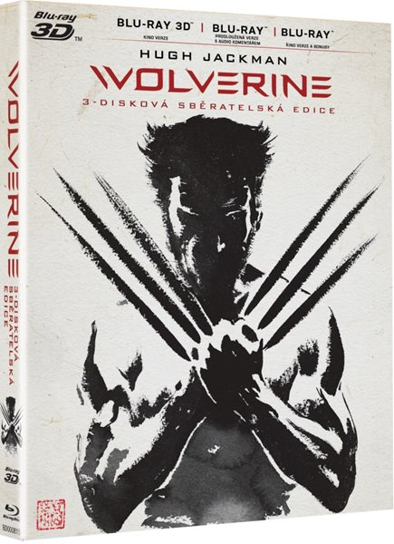 Wolverine Blu-ray 3D + 2D - James Mangold - 13x17 cm