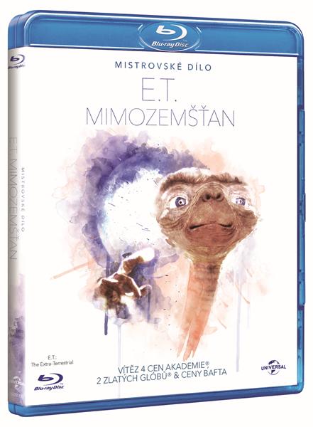 E.T. - Mimozemšťan Blu-ray - Steven Spielberg - 13x17 cm