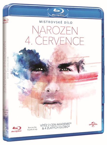 Narozen 4. července Blu-ray - Oliver Stone - 13x17 cm