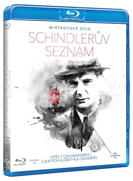 Schindlerův seznam Blu-ray - Steven Spielberg - 13x17 cm