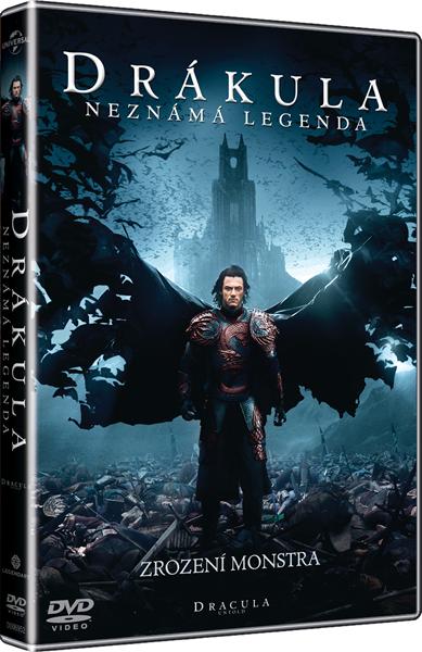 DVD Drákula: Neznámá legenda - Gary Shore - 13x19 cm