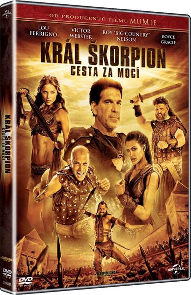 DVD Král Škorpion: Cesta za mocí - Mike Elliott - 13x19 cm