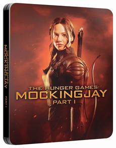 Hunger Games: Síla vzdoru 1. část Blu-ray steelbook
