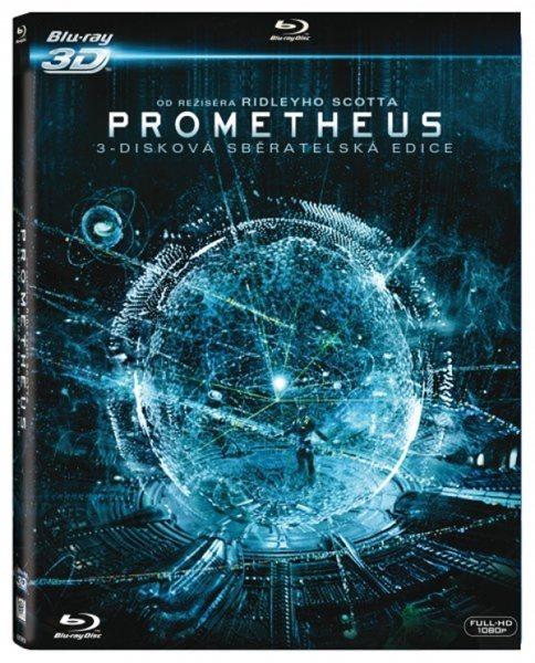 Prometheus Blu-ray 3D + 2D - Ridley Scott - 13x17 cm