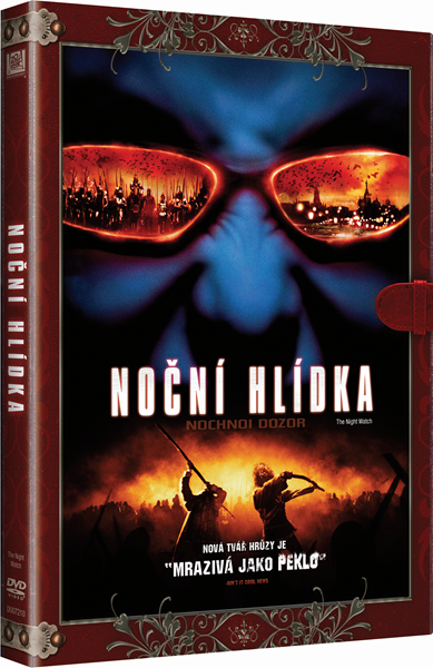 DVD Noční hlídka - Timur Bekmambetov - 13x19 cm