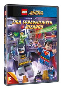 DVD Lego: DC - Liga spravedlivých vs Bizarro