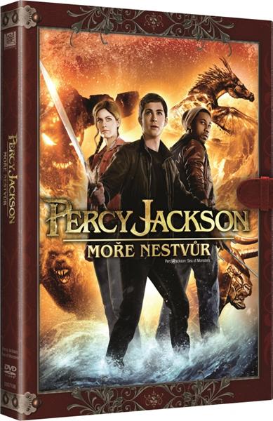 DVD Percy Jackson 2: Moře nestvůr - Thor Freudenthal - 13x19 cm