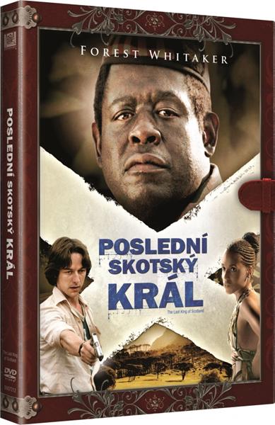 DVD Poslední skotský král - Kevin Macdonald - 13x19 cm