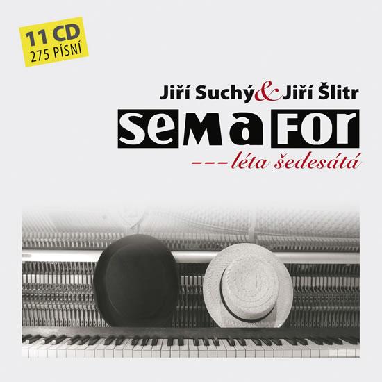 CD Semafor - Semafor Komplet 1964 - 1971 - Suchý Jiří, Šlitr Jiří - 13x14 cm