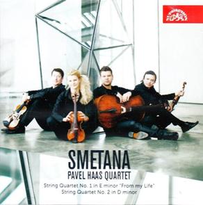 CD Pavel Haas Quartet - Smetana