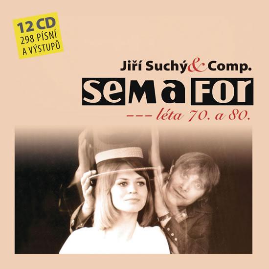 CD Semafor - Komplet 70. a 80. léta - Suchý Jiří, Šlitr Jiří - 13x14 cm