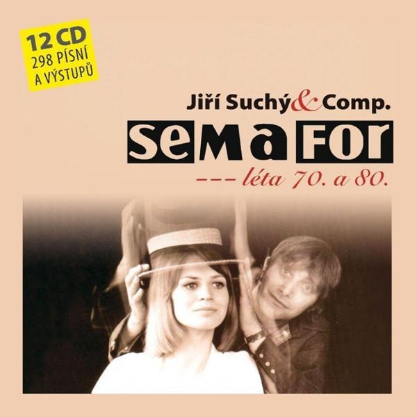 CD Semafor - Komplet 70. a 80. léta - 13x14 cm