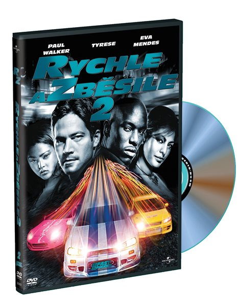 DVD Rychle a zběsile 2 - John Singleton - 13x19 cm