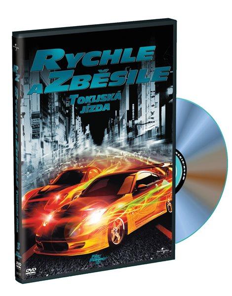DVD Rychle a zběsile: Tokijská jízda - Justin Lin - 13x19 cm