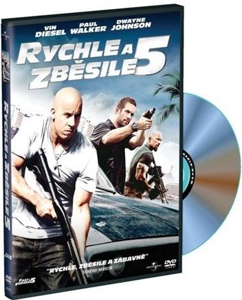 DVD Rychle a zběsile 5 - Justin Lin - 13x19 cm