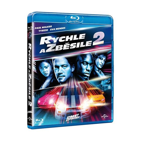 Rychle a zběsile 2 Blu-ray - John Singleton - 13x17 cm