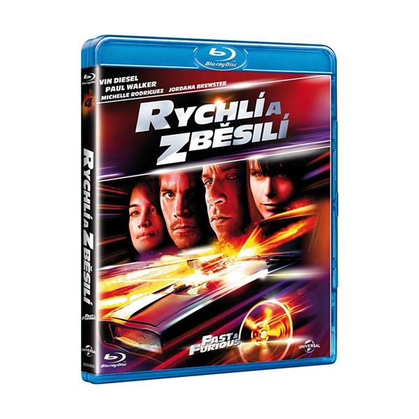Rychlí a zběsilí Blu-ray - Justin Lin - 13x17 cm
