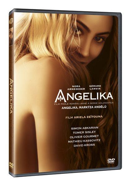 DVD Angelika - Ariel Zeitoun - 13x19 cm