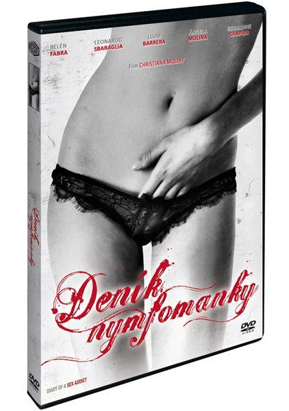 DVD Deník nymfomanky - Christian Molina - 13x19 cm
