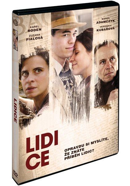 DVD Lidice - Petr Nikolaev - 13x19 cm