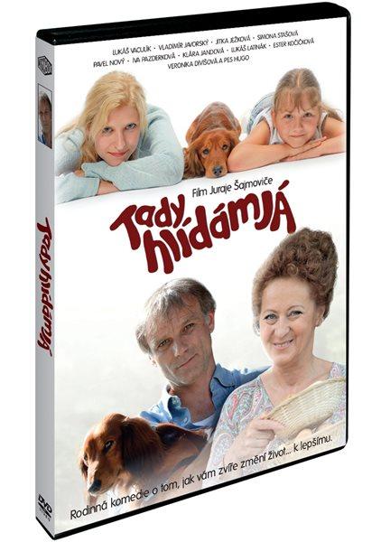 DVD Tady hlídám já - Juraj Šajmovič - 13x19 cm