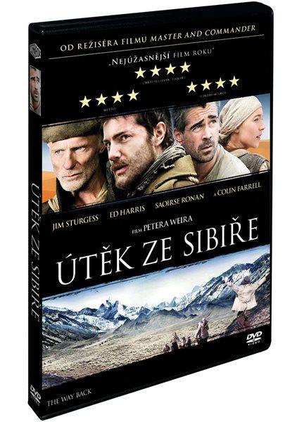 DVD Útěk ze Sibiře - Peter Weir - 13x19 cm