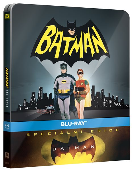 Batman ( 1966 ) Blu-ray - Leslie H. Martinson - 13x17 cm
