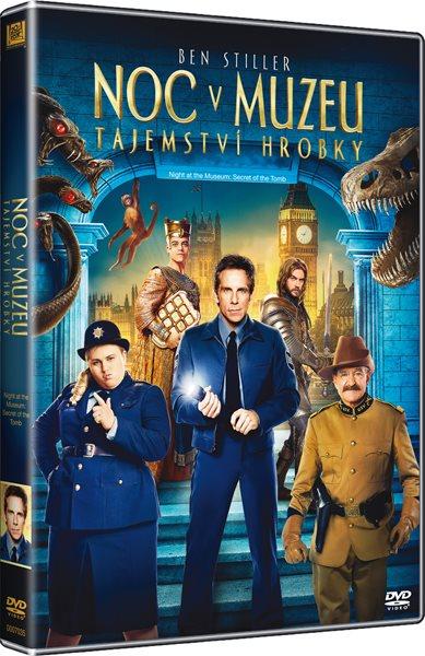 DVD Noc v Muzeu: Tajemství hrobky 3 - Shawn Levy - 13x19 cm