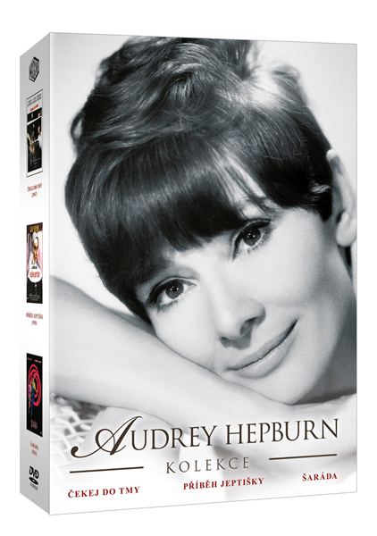 DVD Kolekce Audrey Hepburn - 13x19 cm