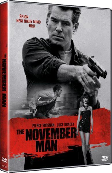 DVD November Man - Roger Donaldson - 13x19 cm