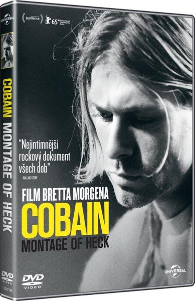 DVD Cobain: Montage of Heck - Brett Morgen - 13x19 cm