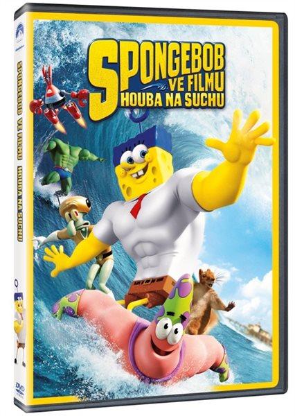 DVD SpongeBob ve filmu: Houba na suchu - Paul Tibbitt - 13x19 cm