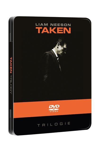 DVD 96 hodin: Trilogie - futurepak - Pierre Morel / Olivier Megaton - 13x19 cm
