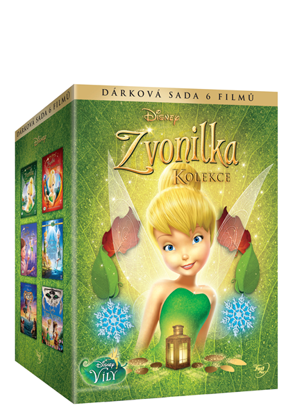 DVD Zvonilka - Kolekce 2. ( 6 DVD ) - Bradley Raymond, Klay Hall, Peggy Holmes, Steve Loter - 13x19 cm