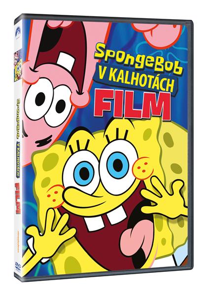DVD Spongebob v kalhotách - Stephen Hillenburg - 13x19 cm