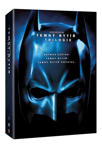 DVD Temný rytíř trilogie - Christopher Nolan - 13x19 cm